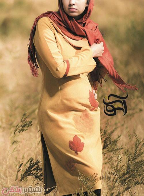 مدل مانتو با رنگ گرم