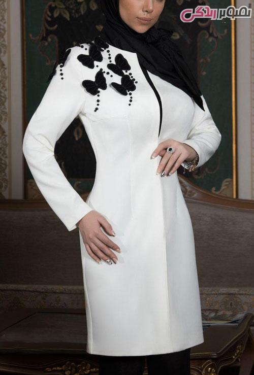 مدل مانتو اسپرت طوسی 96 مدل مانتو عید 96 سفید و رنگ روشن مجلسی شیک دخترانه و زنانه ...