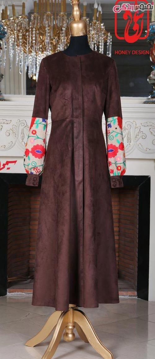 مدل مانتو عید مجلسی جدید بلند