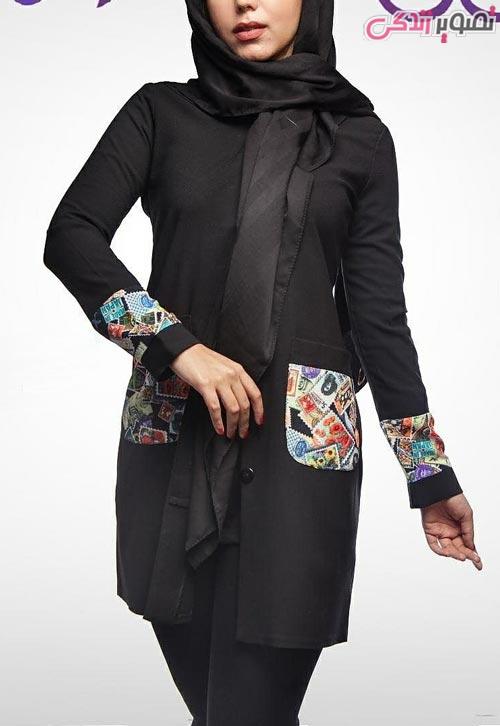 مدل مانتو عید دخترانه مجلسی