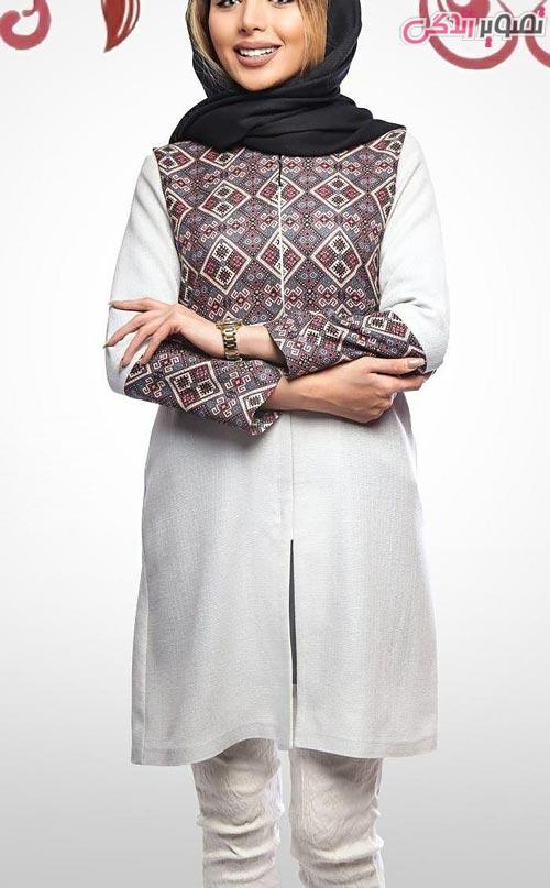 مدل مانتو عید دخترانه سنتی