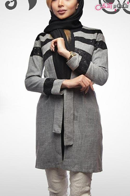 مدل مانتو عید دخترانه جلو باز