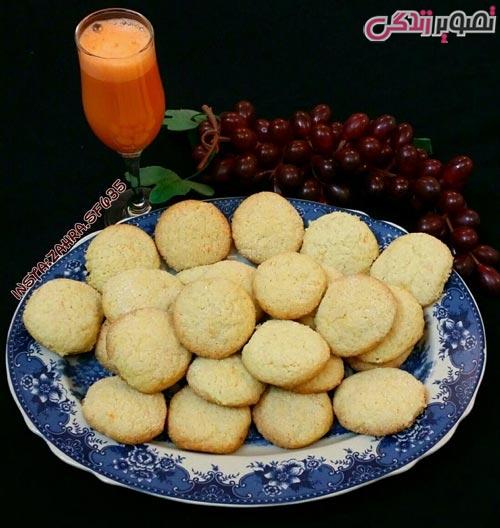 طرز تهیه شیرینی قرابیه پرتقالی