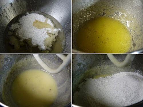 طرز تهیه نان برنجی قزوینی