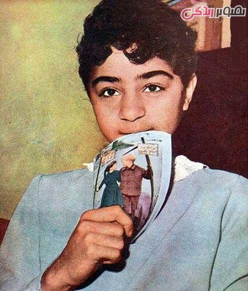 عکس کودکی سیما بینا