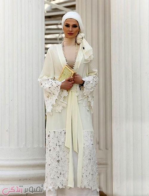 مدل مانتو مجلسی عید 96 گیپور