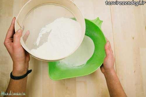 طرز تهیه نان شکلاتی ستاره ای