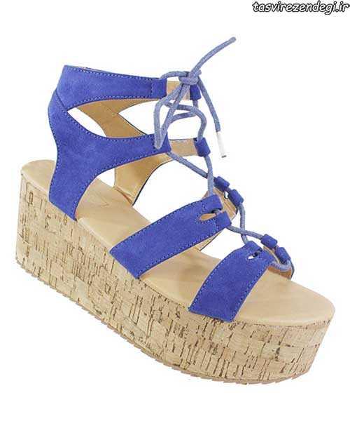 مدل کفش بهاری , کفش تابستانی پاشنه یک تکه