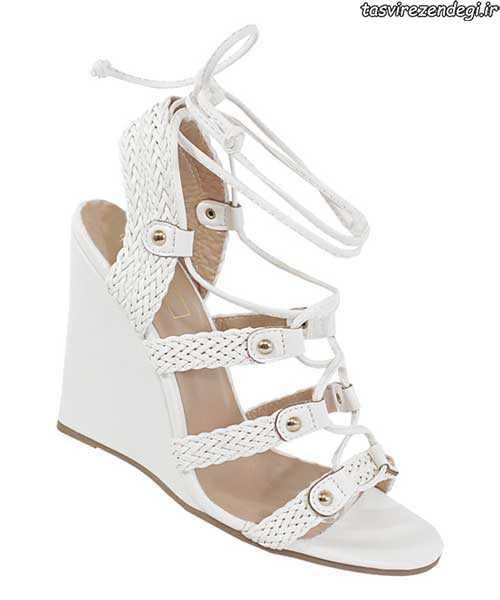 مدل کفش بهاری , صندل تابستانی سفید