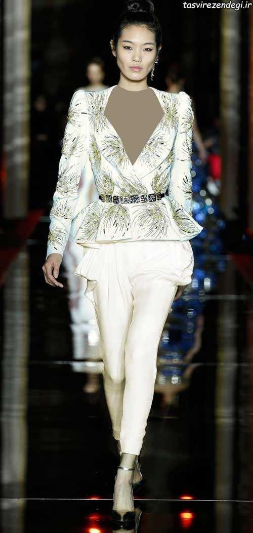 مدل لباس مجلسی سفید, کت شلوار مجلسی