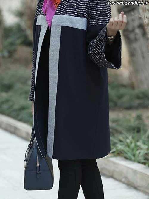 مدل مانتو رسمی بهاری شیک