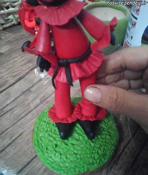 آموزش ساخت عروسک حاجی فیروز