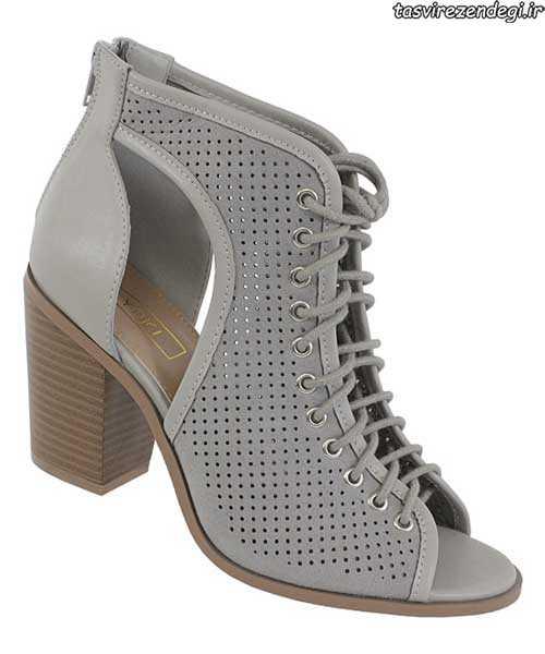 مدل کفش بهاری پاشنه دار