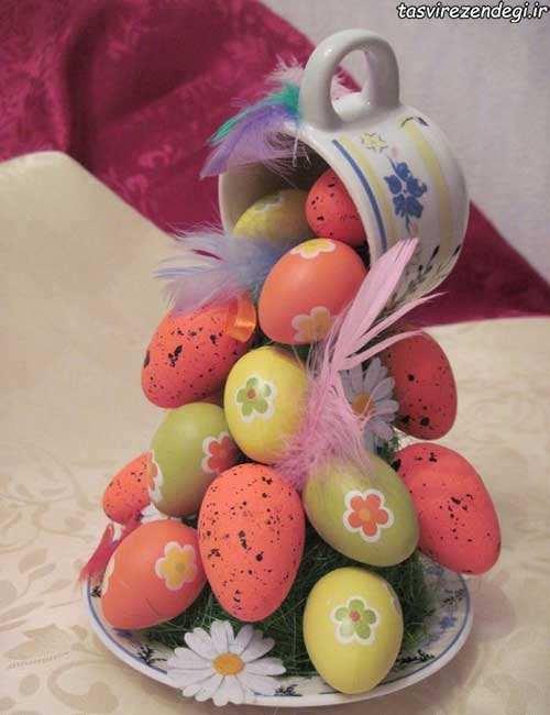 تخم مرغ آبشاری , هفت سین آبشاری