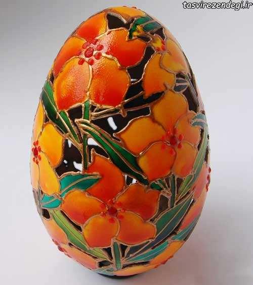 مدل تزیین تخم مرغ هفت سین