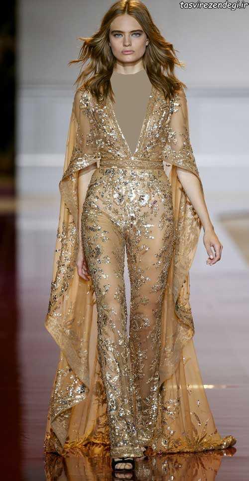 مدل لباس مجلسی با شلوار