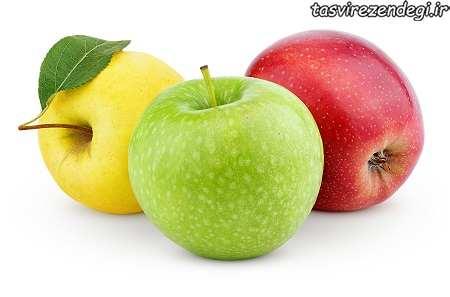 کدام رنگ سیب را بخریم
