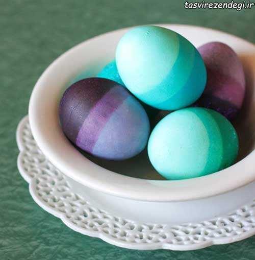 تزیین تخم مرغ های هفت سین