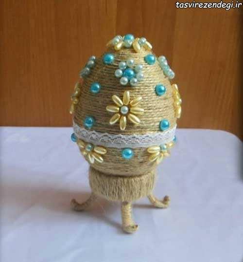 آموزش تزیین تخم مرغ