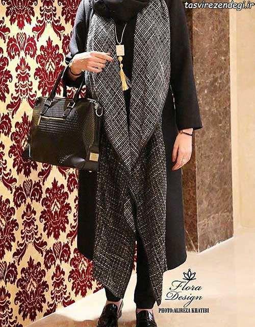 مدل مانتو مجلسی جلو باز برای عید