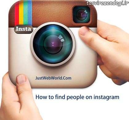 پیدا کردن افراد در اینستاگرام