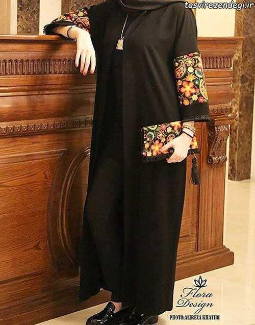 مدل مانتو مجلسی بهاری برای عید