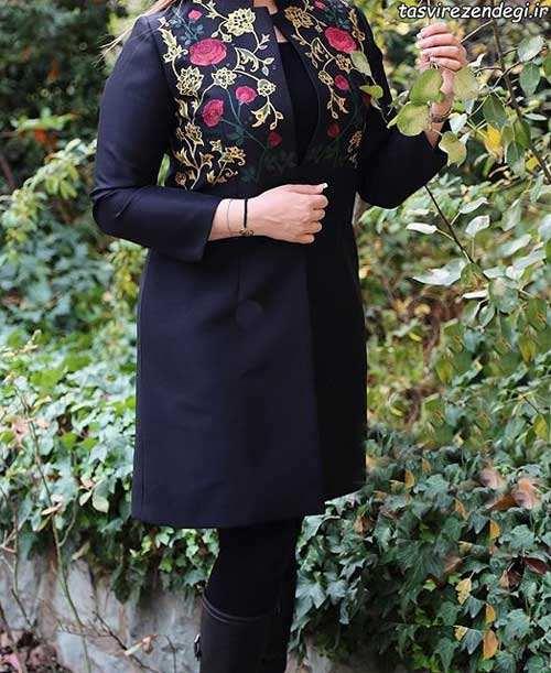 مدل مانتو بهاری مجلسی برای عید