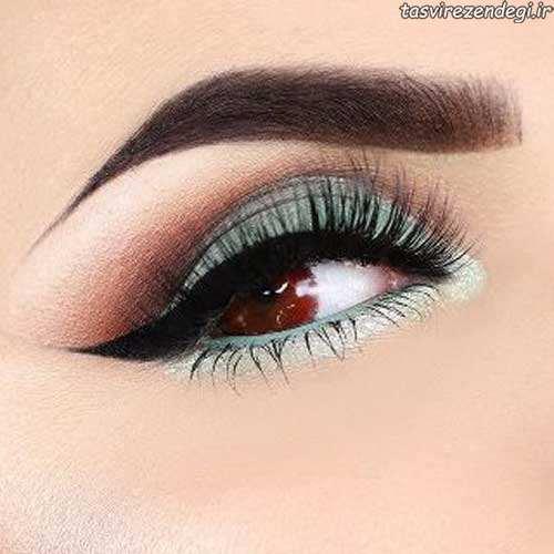 مدل آرایش چشم زیبا جدید