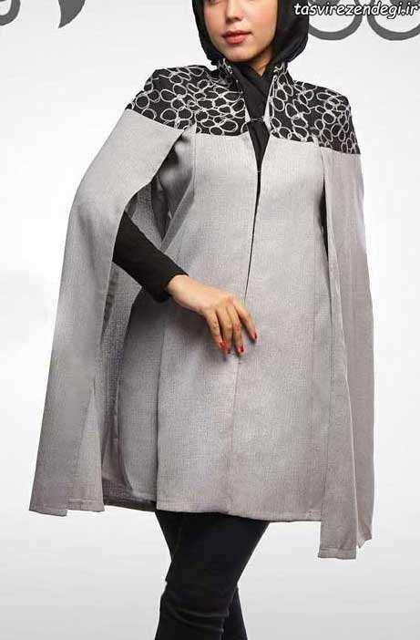 مدل مانتو عید شنلی