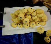طرز تهیه شیرینی شکوفه وانیلی