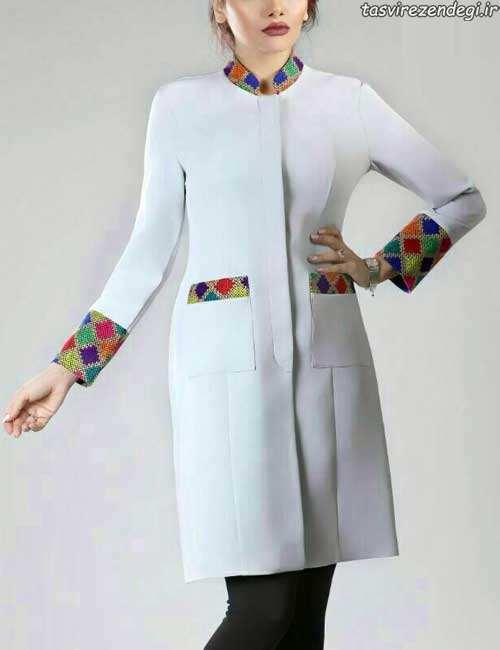 مدل مانتو عید طرح سنتی