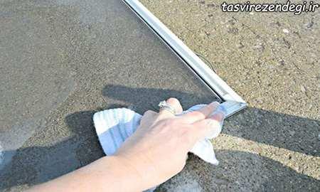روش صحیح تمیز کردن شیشه, بهترین راه تمیز کردن شیشه