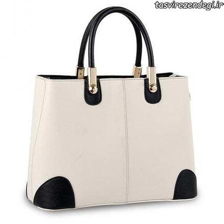 مدل کیف،مدل کیف دستی زنانه سیاه و سفید