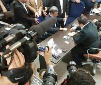 احمدی نژاد آمد
