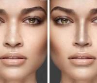 کوچک کردن بینی با آرایش صحیح