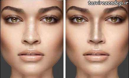 میکاپ بینی - کوچک کردن بینی با آرایش