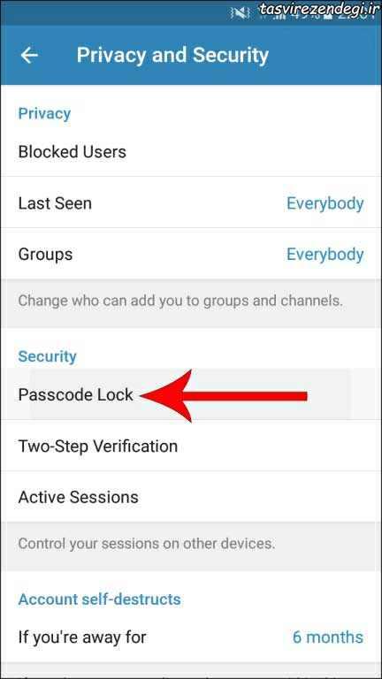 رفع مشکل گرفتن اسکرین شات در تلگرام