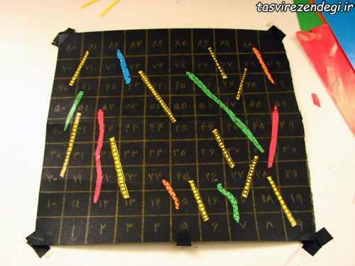 آموزش ساخت تخته بازی مار و پله مقوایی