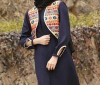 مدل مانتو جدید سنتی دخترانه