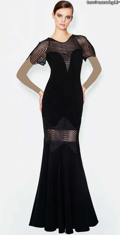 شیک ترین مدل لباس مجلسی 2017