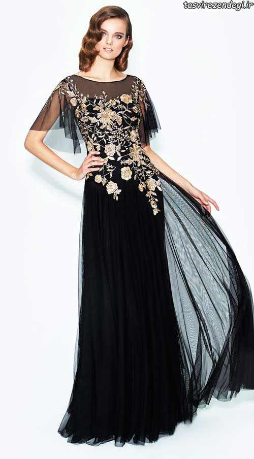 شیک ترین مدل لباس شب بلند