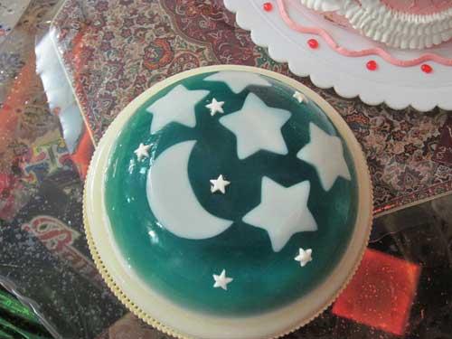 طرز تهیه ژله ماه و ستاره