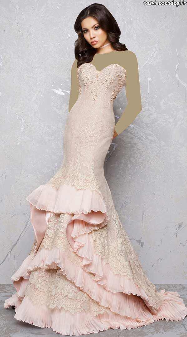 مدل لباس عقد, مدل لباس نامزدی گیپور