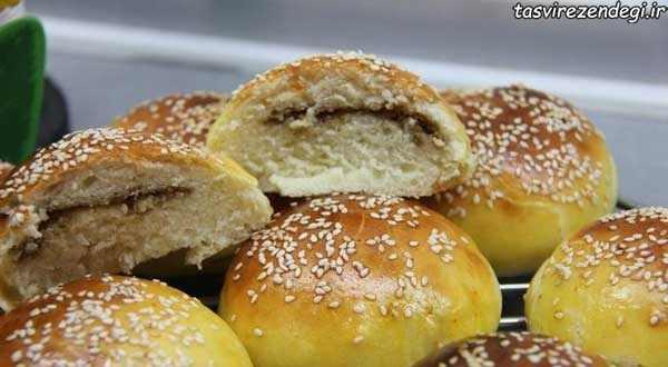 طرز تهیه نان کوهی آمل , طرز پخت نان ییلاقی
