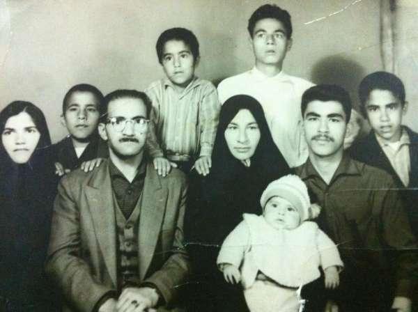 عکس خانوادگی سعید کریمیان مدیر شبکه ماهواره ای جم