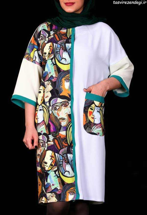 مدل مانتو تابستونی, مانتو نخی کیمونو