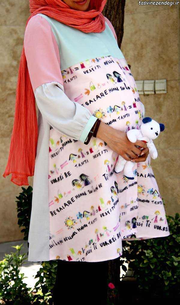 مدل مانتو بارداری , مدل مانتو حاملگی