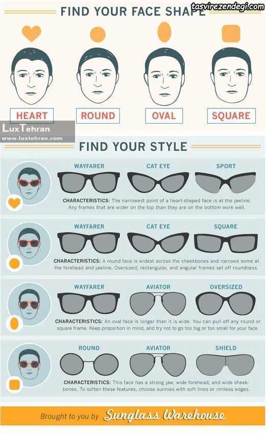راهنمای خرید و انتخاب مدل عینک دودی آفتابی مناسب