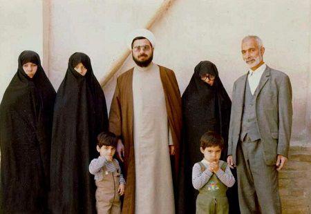 عکس خانوادگی حسن روحانی