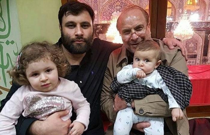 عکس محمدباقر قالیباف و فرزندانش